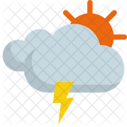 Thunder clouds Icon