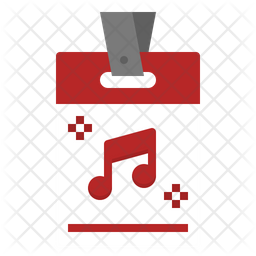 Ticket Flat Icon
