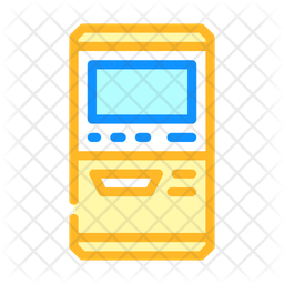 Ticket Collecting Machine Icon