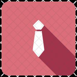 Tie Glyph Icon