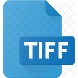 Tiff file Flat Icon