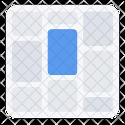 Tiles Display Icon