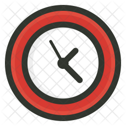 Time Colored Outline Icon