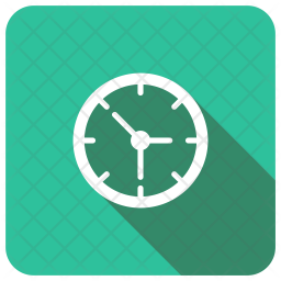 Time Glyph Icon