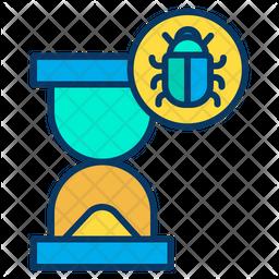 Time bug Icon
