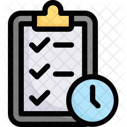 Time Management Production Icon