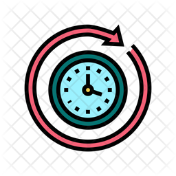 Time Running Icon