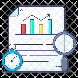 Time Statistics Icon