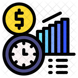 Timeline Chart Icon