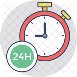 Timely service Icon