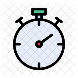 Timer Icon Of Colored Outline Style Available In Svg Png Eps Ai Icon Fonts