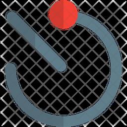 Timer Gradient Icon