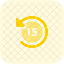 Timer Fifteen Second Flat Icon