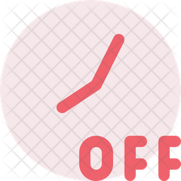 Timer off Icon