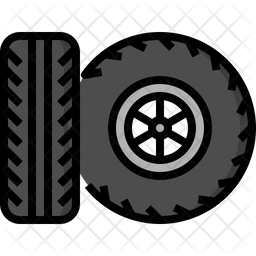 Tire Icon Of Colored Outline Style Available In Svg Png Eps Ai Icon Fonts