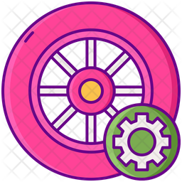 Tire Maintenance Icon