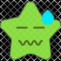 Tired Emoji Icon
