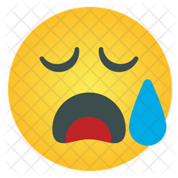 Tired Emoticon Icon