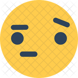 Tired Face Flat Icon