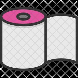 Toilet Roll Icon