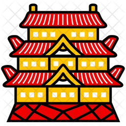 Tokyo Imperial Palace Icon