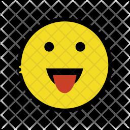 Tongue emoji Emoji Icon