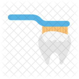Tooth Cleaning Icon