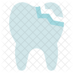 Tooth crack Icon