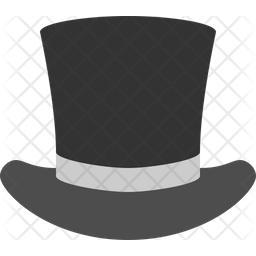 Top Hat Icon Of Flat Style Available In Svg Png Eps Ai Icon Fonts