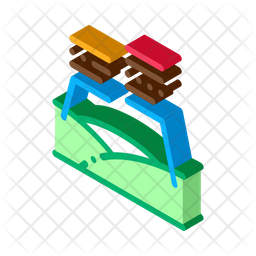 Topography Characteristics Icon
