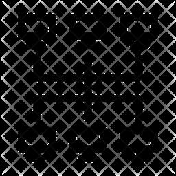 Topology network Icon