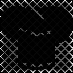 Toque Glyph Icon