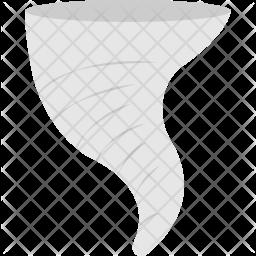 Tornado Flat Icon