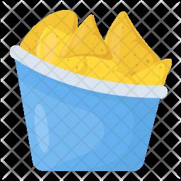 Tortilla Chip Icon