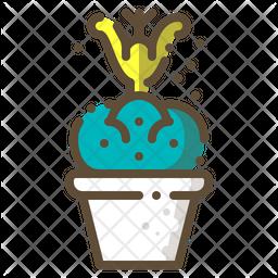 Totem pole cactus Icon