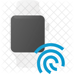 Touch id Flat Icon