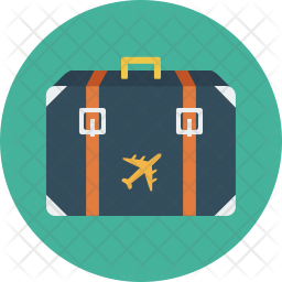 Tourist Icon of Flat style - Available in SVG, PNG, EPS, AI & Icon fonts
