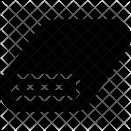Towel Glyph Icon
