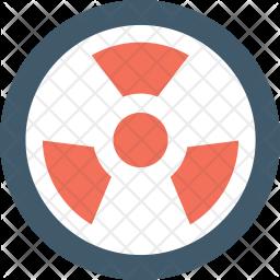 Toxic Flat Icon
