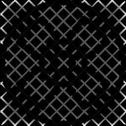 Toxic Line Icon