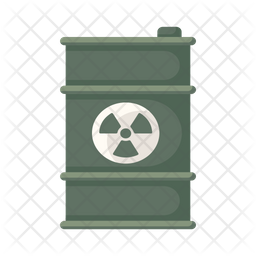 Toxic Barrel Flat Icon
