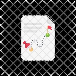 Track Flat Icon