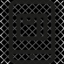 Track Line Icon