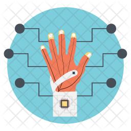 Tracking Glove Icon