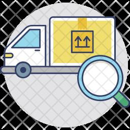Tracking Shipment Icon