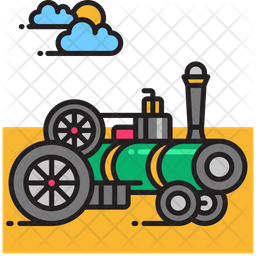 Traction engine Icon