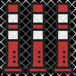 Traffic Bollard Icon