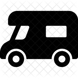Trailer Glyph Icon