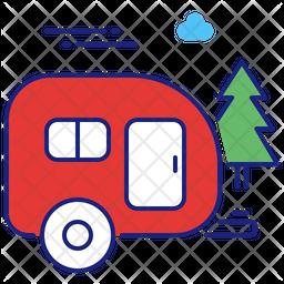 Trailer park Icon