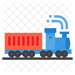Train Container Flat Icon